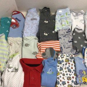 Baby boy clothing bundle 22 pieces